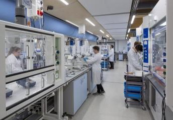 Image of scientists in a Laboratory
